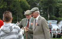 12 Martin Scott And Mr Douglas Elliot Judging At Rydal In 2007